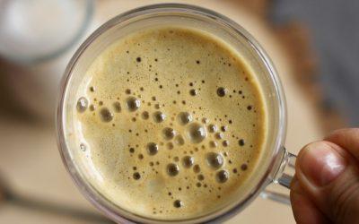 Jaglane latte