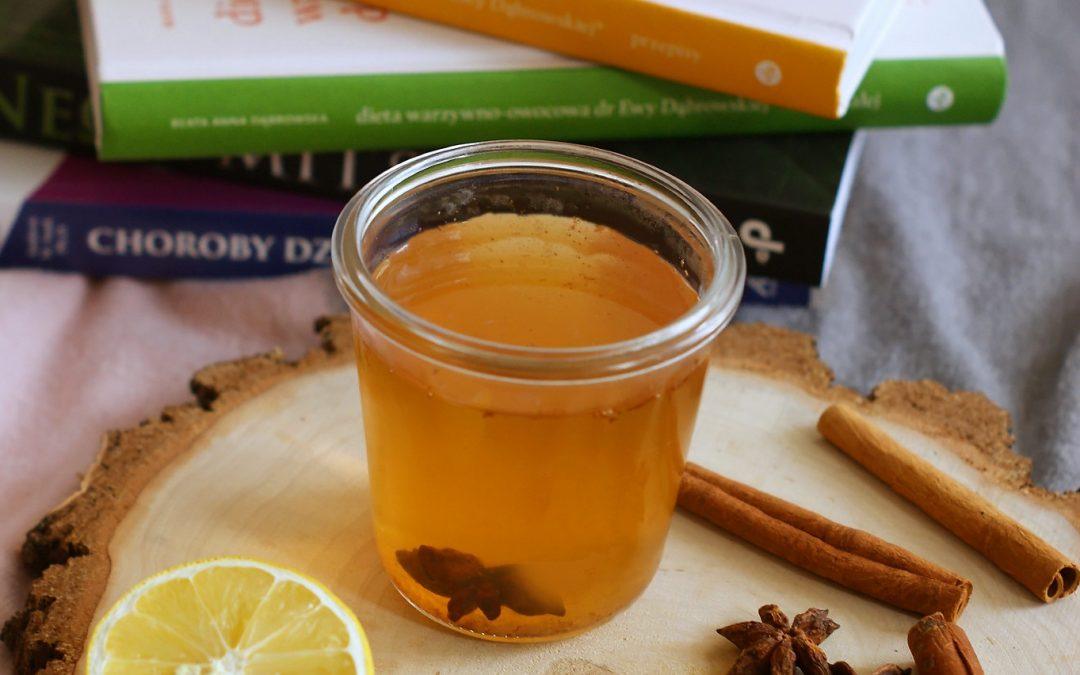 Herbata na infekcje z imbirem, cynamonem i goździkami